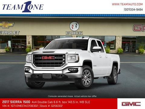 2017 GMC Sierra 1500 for sale in Oakland MD