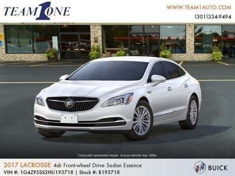 2017 Buick LaCrosse for sale in Oakland MD