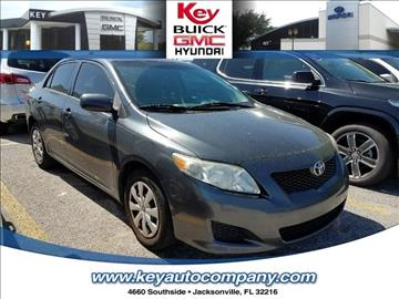 2010 Toyota Corolla for sale in Jacksonville, FL