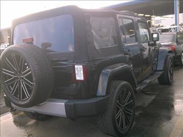 2012 Jeep Wrangler Unlimited for sale in Miami, FL