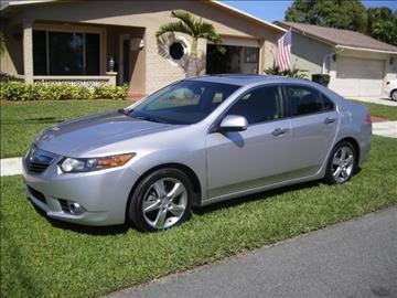 2012 Acura TSX for sale in Miami, FL