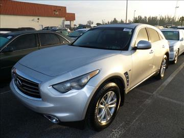 2014 Infiniti QX70 for sale in Miami, FL