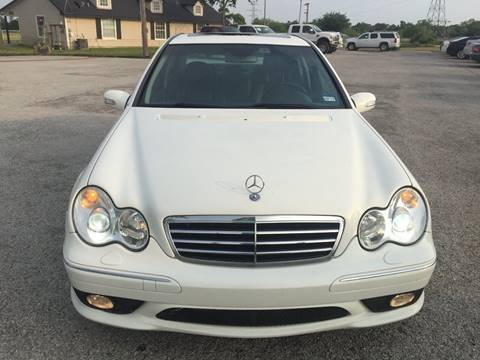 2006 Mercedes-Benz C-Class for sale at Santos Motors in Lewisville TX