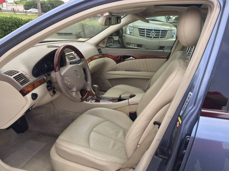 2003 Mercedes-Benz E-Class for sale at Santos Motors in Lewisville TX