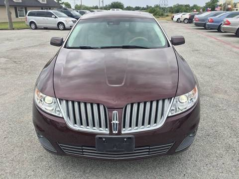 2009 Lincoln MKS for sale at Santos Motors in Lewisville TX
