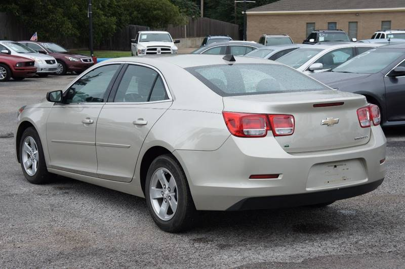 2014 Chevrolet Malibu for sale at Santos Motors in Lewisville TX
