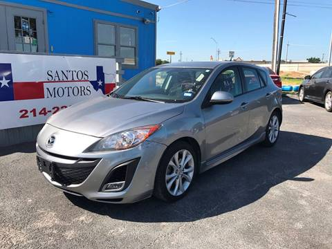 2010 Mazda MAZDA3 for sale at Santos Motors in Lewisville TX
