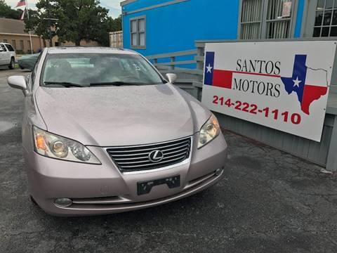 2008 Lexus ES 350 for sale at Santos Motors in Lewisville TX
