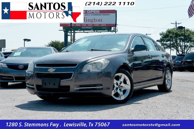 2010 Chevrolet Malibu for sale at Santos Motors in Lewisville TX