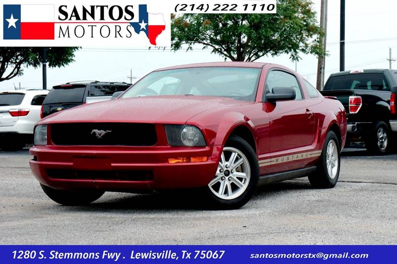 2007 Ford Mustang for sale at Santos Motors in Lewisville TX