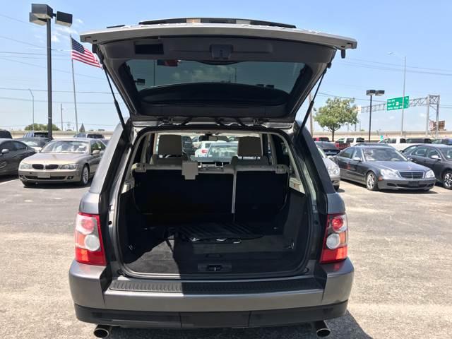 2008 Land Rover Range Rover Sport for sale at Santos Motors in Lewisville TX