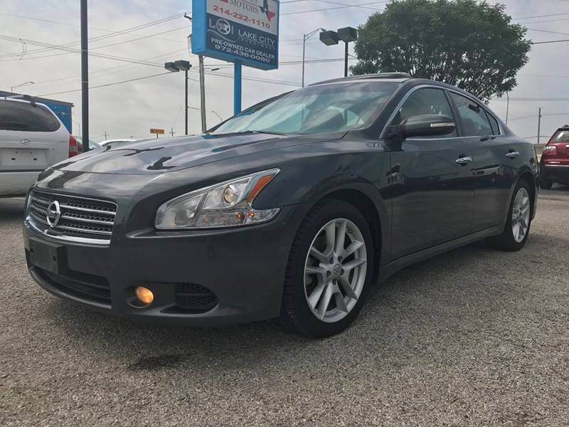2009 Nissan Maxima for sale at Santos Motors in Lewisville TX