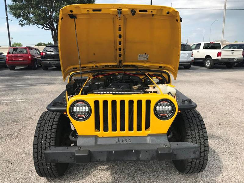 2006 Jeep Wrangler for sale at Santos Motors in Lewisville TX