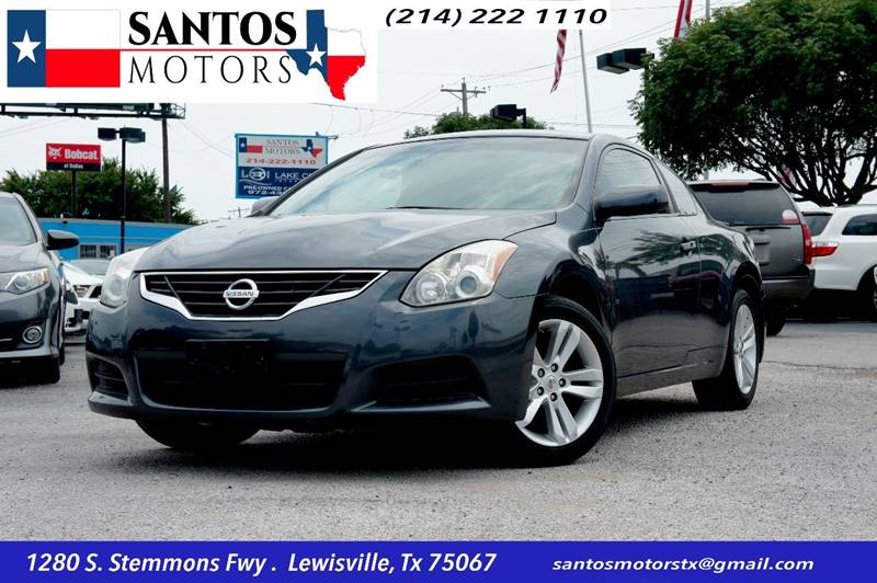 2012 Nissan Altima for sale at Santos Motors in Lewisville TX