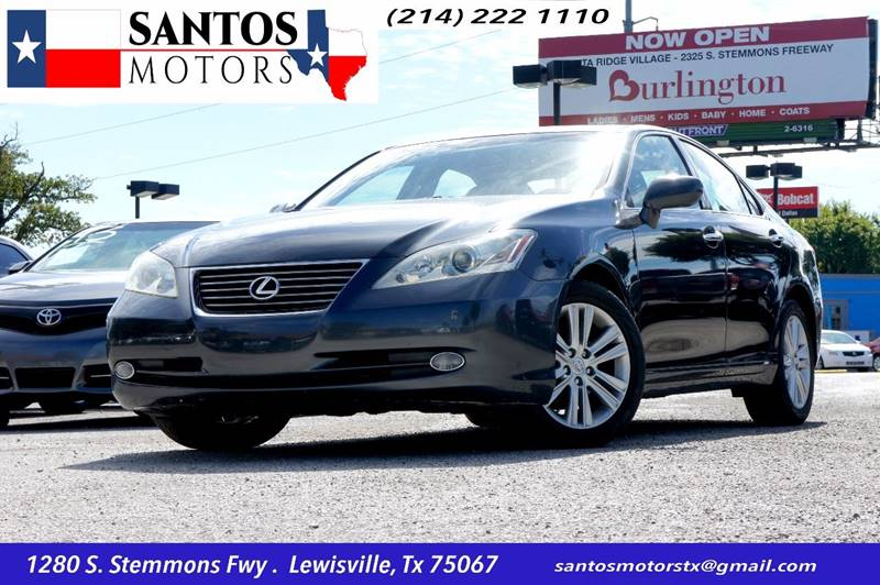 2008 Lexus ES 350 for sale at Santos Motors in Lewisville TX