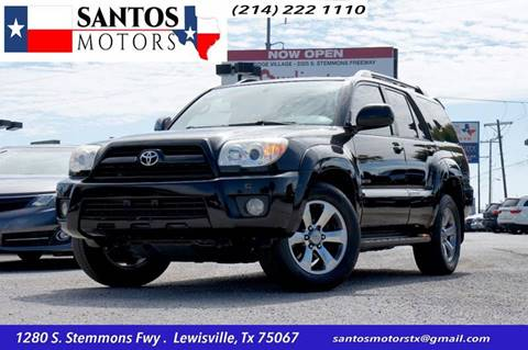 2007 Toyota 4Runner for sale at Santos Motors in Lewisville TX