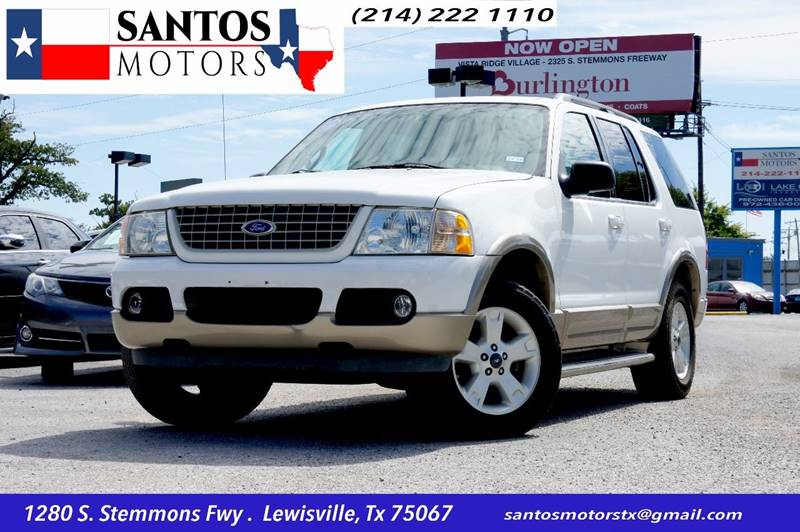 2004 Ford Explorer for sale at Santos Motors in Lewisville TX