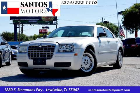 2007 Chrysler 300 for sale at Santos Motors in Lewisville TX