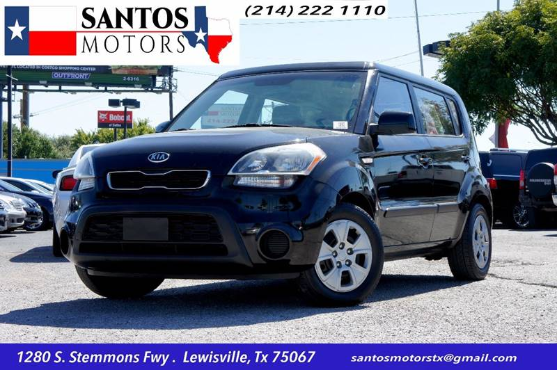 2012 Kia Soul for sale at Santos Motors in Lewisville TX