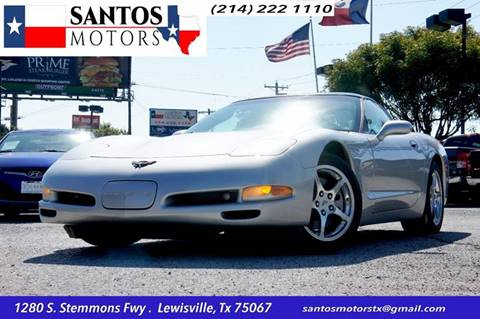 2004 Chevrolet Corvette for sale at Santos Motors in Lewisville TX