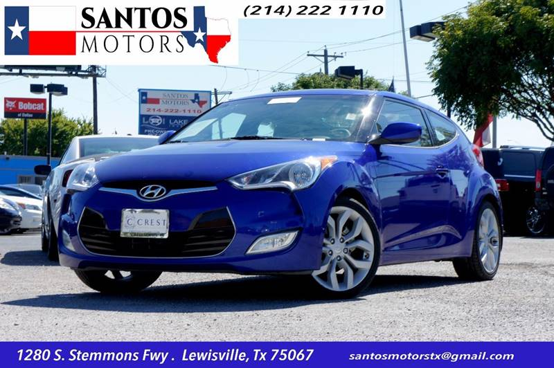 2012 Hyundai Veloster for sale at Santos Motors in Lewisville TX