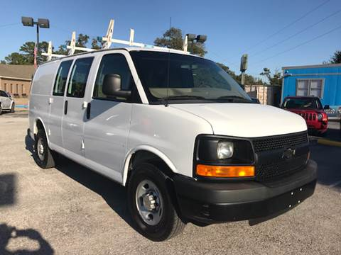 2013 Chevrolet Express Cargo for sale at Santos Motors in Lewisville TX