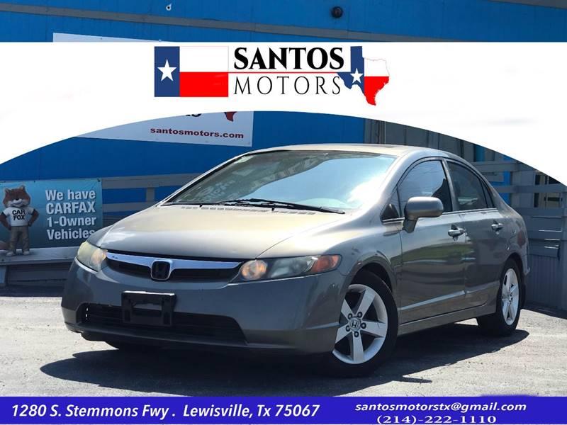 2008 Honda Civic For Sale At Santos Motors In Lewisville TX