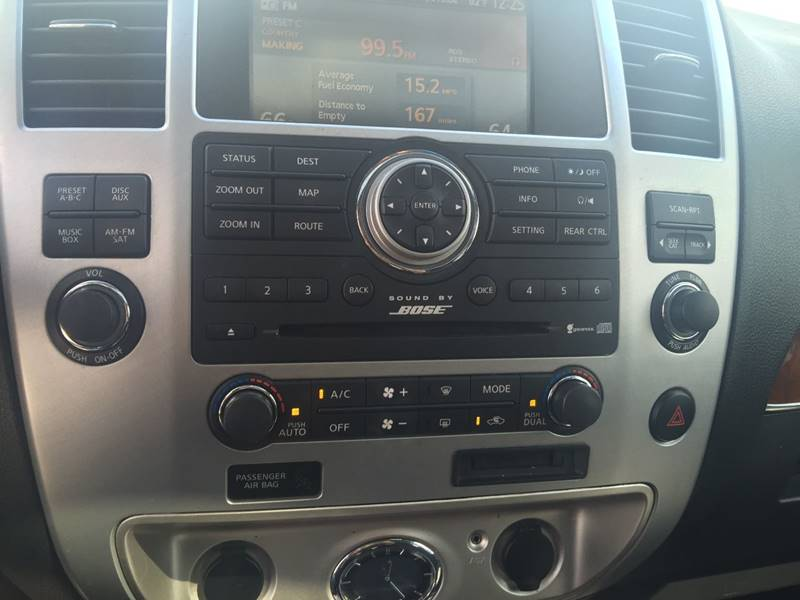 2008 Infiniti QX56 for sale at Santos Motors in Lewisville TX
