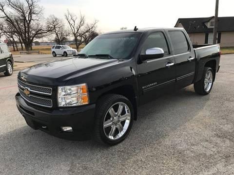 2012 Chevrolet Silverado 1500 for sale at Santos Motors in Lewisville TX