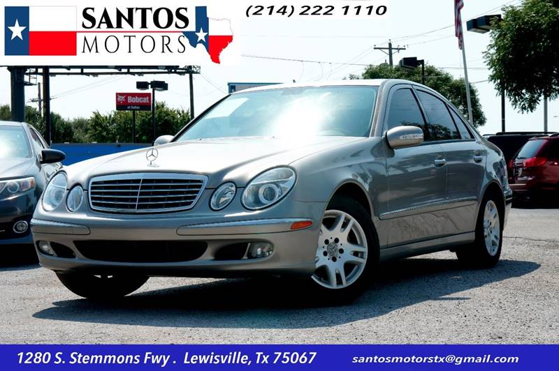2006 Mercedes-Benz E-Class for sale at Santos Motors in Lewisville TX