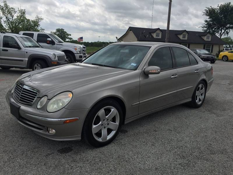 2005 Mercedes-Benz E-Class for sale at Santos Motors in Lewisville TX