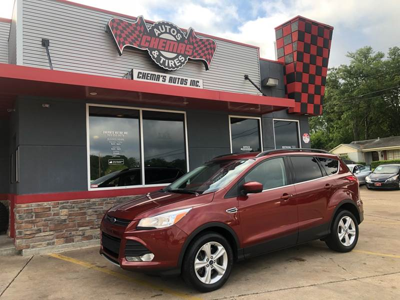 Ford Dealership Tyler Tx >> 2016 Ford Escape Awd Se 4dr Suv In Tyler Tx Chema S Autos