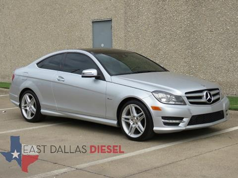 2012 Mercedes Benz C Class For Sale In Dallas, TX