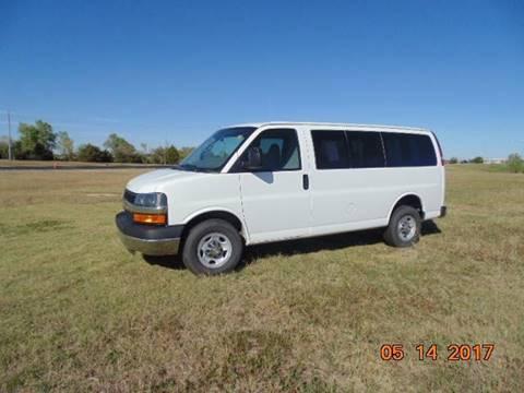 2014 Chevrolet Express Passenger for sale in Kechi, KS