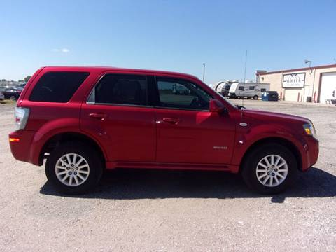 2008 Mercury Mariner for sale in Kechi, KS