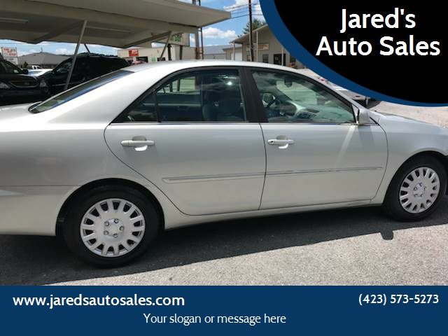 2003 Toyota Camry For Sale At Jaredu0027s Auto Sales In Bristol TN