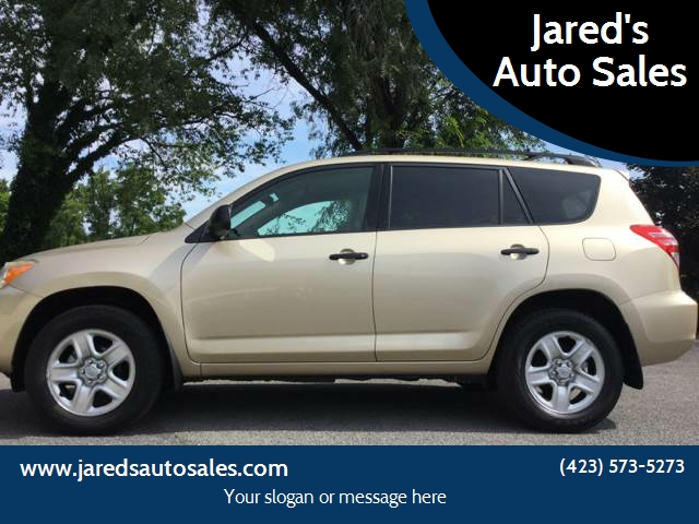 2011 Toyota RAV4 For Sale At Jaredu0027s Auto Sales In Bristol TN