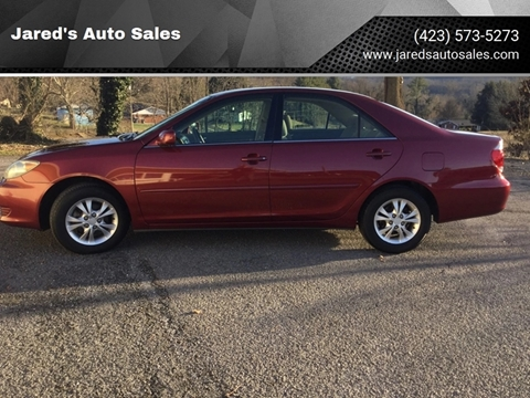 Toyota Camry For Sale in Bristol, TN - Jared's Auto Sales