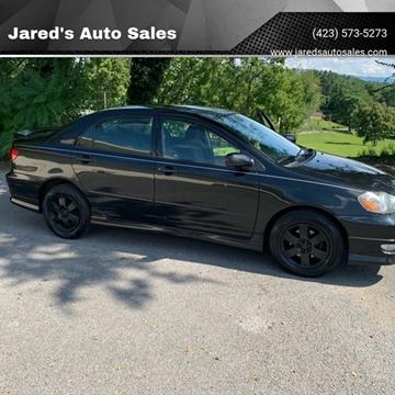 Toyota Bristol Tn >> Toyota Corolla For Sale In Bristol Tn Jared S Auto Sales