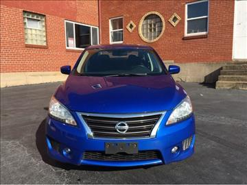 2013 Nissan Sentra for sale at ARCH AUTO SALES in Saint Louis MO