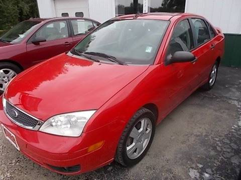 2007 Ford Focus for sale at Sinclaire Auto Sales in Pana IL