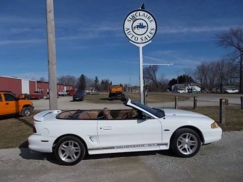 1998 Ford Mustang for sale at Sinclaire Auto Sales in Pana IL