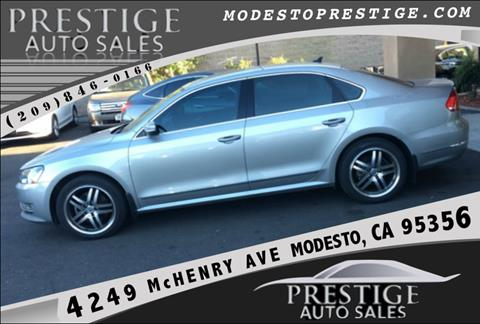 2013 Volkswagen Passat for sale in Modesto, CA