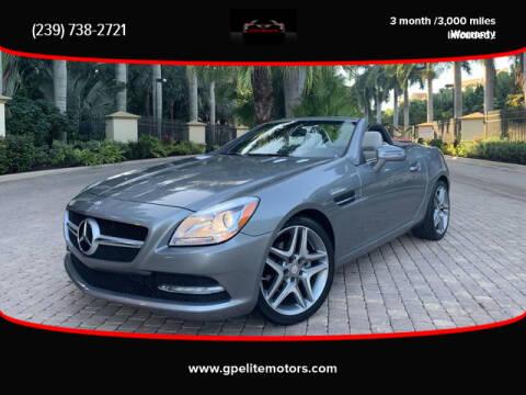 Mercedes Benz Of Fort Myers >> Used Mercedes Benz Slk For Sale In Fort Myers Fl