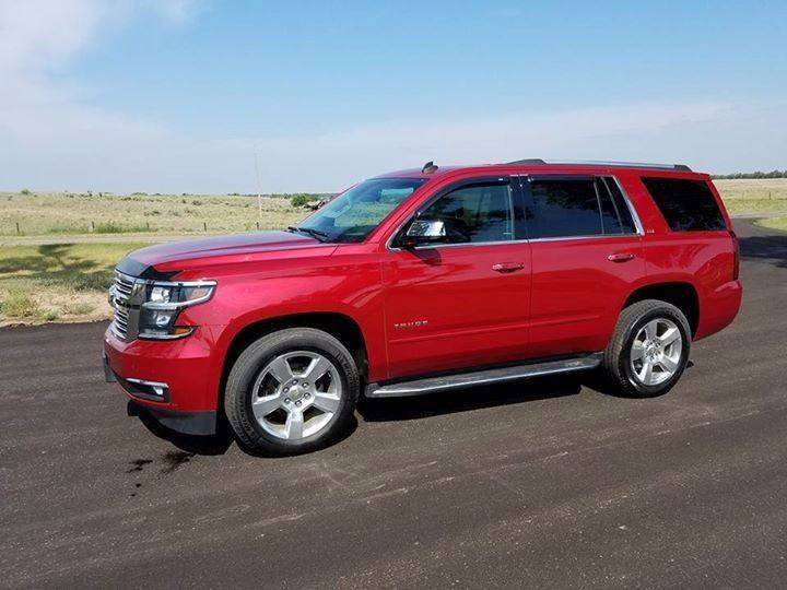 2015 Chevrolet Tahoe for sale at TNT Auto in Coldwater KS