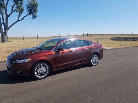 2015 Ford Fusion for sale at TNT Auto in Coldwater KS
