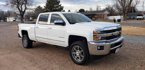2015 Chevrolet Silverado 2500HD for sale in Coldwater, KS