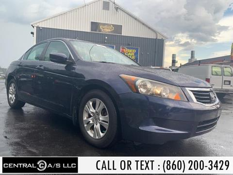 2008 Honda Accord for sale in East Windsor, CT