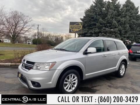 2014 Dodge Journey SXT for sale at Central A/S LLC in East Windsor CT