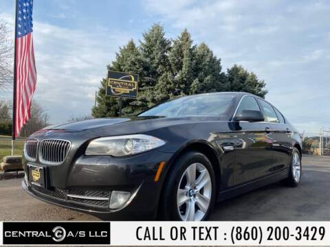 2013 BMW 5 Series 528i xDrive for sale at Central A/S LLC in East Windsor CT